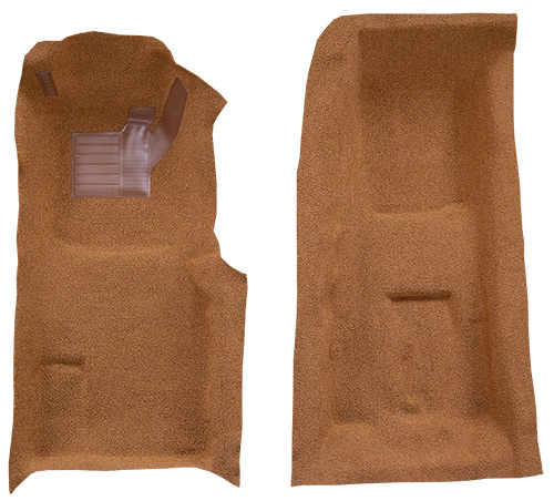 1971-1975 Chevrolet Corvette 4 Speed Front with Pad Loop Factory Fit Carpet