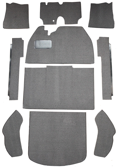 1974-1977 Volkswagen Beetle 2 Door Sedan Fits Flat Front Cutpile Carpet