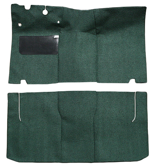 1952-1954 Ford Crestline Sunliner Convertible Loop Factory Fit Carpet