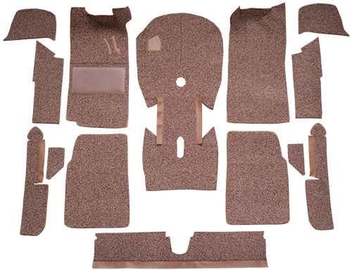 1966-1976 BMW 2002 2 Door Cut & Sewn Cutpile Factory Fit Carpet