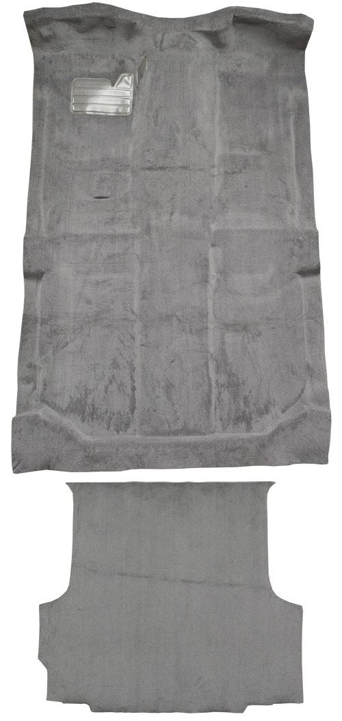 1992-1998 GMC K1500 Suburban Complete without Heat Vents Cutpile Carpet