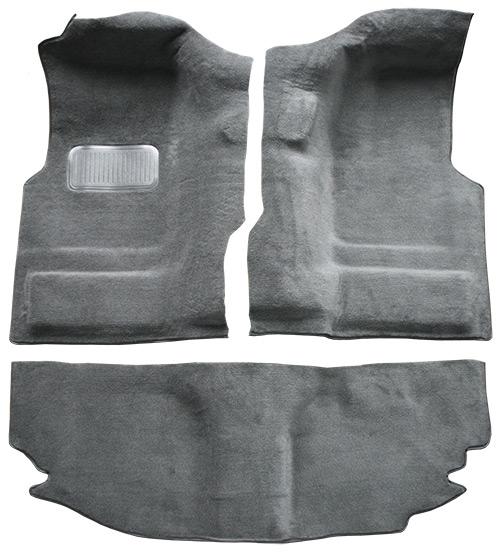 2004-2006 Jeep Wrangler Unlimited Cutpile Factory Fit Carpet
