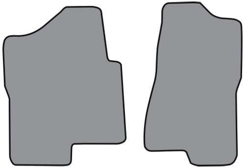 1999 Chevrolet K1500 Cutpile 2pc Factory Fit Floor Mats