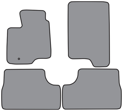 1997-2002 Ford Expedition Cutpile 4pc Factory Fit Floor Mats