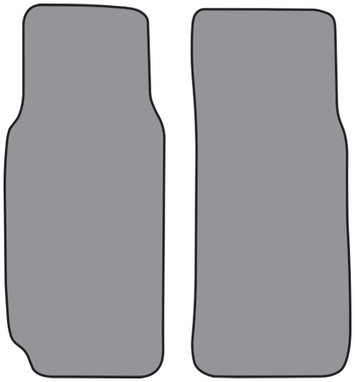 1964-1979 MG Midget Cutpile 2pc Factory Fit Floor Mats