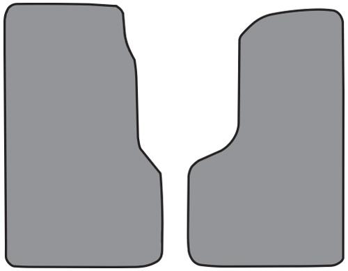 2003-2006 Chevrolet C4500 Kodiak Cutpile 2pc Factory Fit Floor Mats