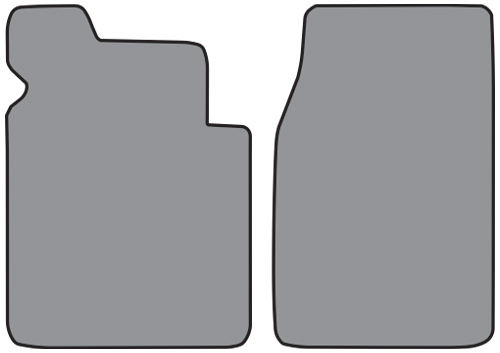 1953-1956 Ford F-100 Pickup Loop 2pc Factory Fit Floor Mats