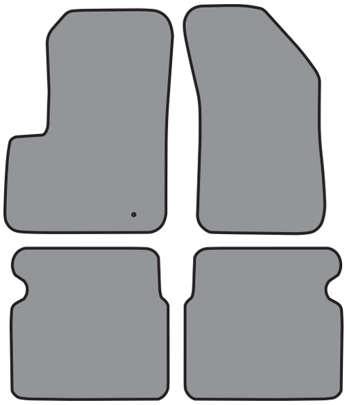 2011-2013 Chrysler 200 Cutpile 4pc Factory Fit Floor Mats