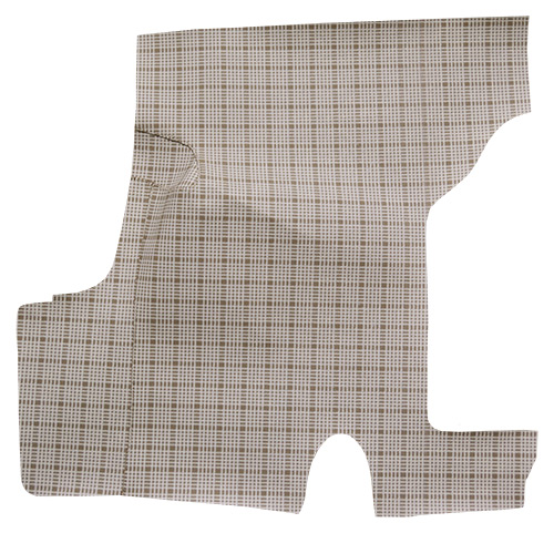 1955-1956 Ford Customline Fleece Factory Fit Trunk Mat