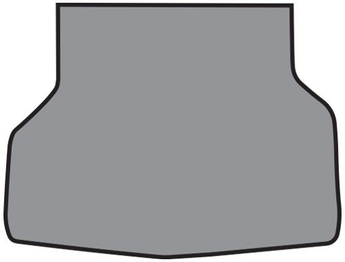1961-1964 Chevrolet Corvair Vinyl Factory Fit Trunk Mat
