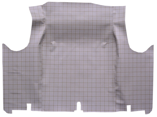 1966 Ford Fairlane Fleece Factory Fit Trunk Mat