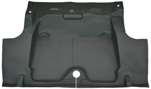 1968 Chevrolet Camaro Vinyl Factory Fit Trunk Mat