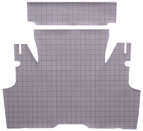 1955-1956 Ford Thunderbird Convertible Fleece 2pc Factory Fit Trunk Mats