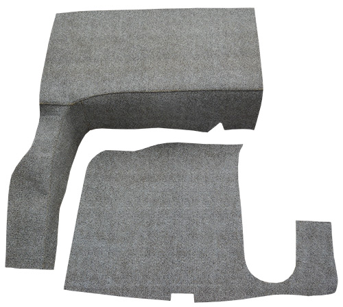 1957-1958 Buick Century Burtex 2pc Factory Fit Trunk Mats