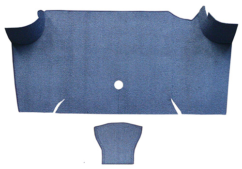 1967 1968 ford mustang fastback trunk kit floor only loop for 1967 mustang floor mats