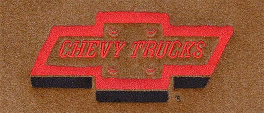 1955-1958 Chevrolet Truck Loop 2pc Factory Fit Floor Mats