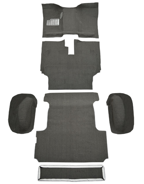 1988-1990 Toyota Land Cruiser Carpet Replacement - Complete - Nylon | Fits: FJ62 model