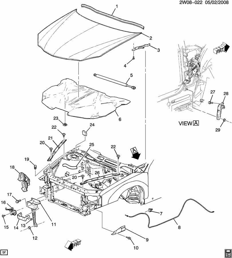 hummer h3 parts diagram exterior