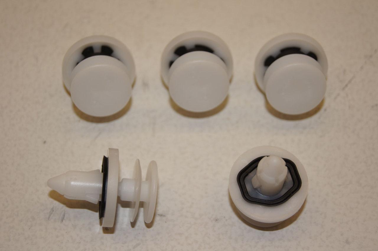Interior Door Panel Retainer Clip Fastner Pack Of 5