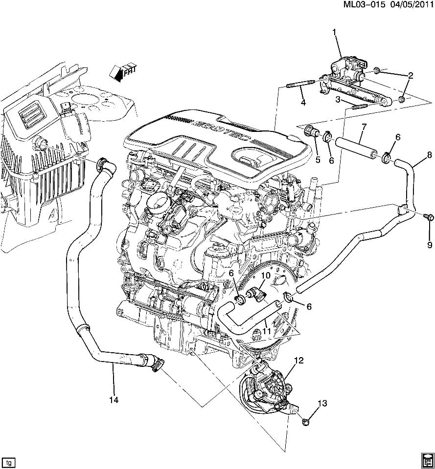 2011 terrain engine diagram 2010 gmc terrain engine diagram