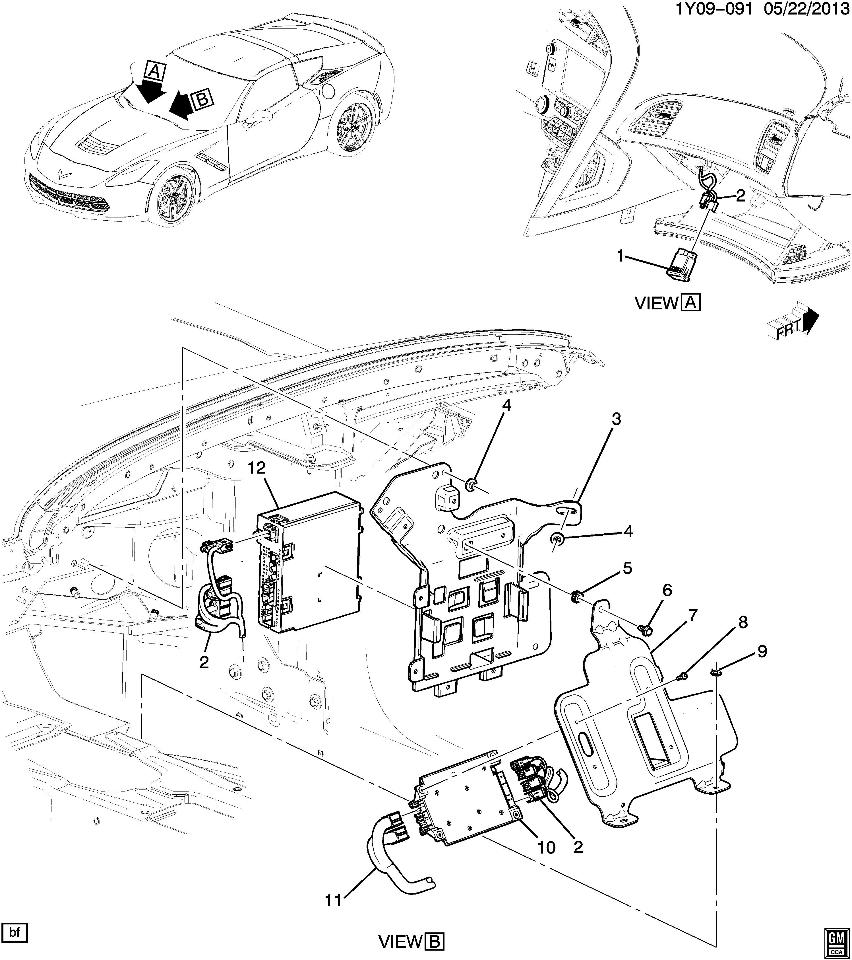 2015 Chevy Buick Gmc Cadillac Radio Receiver Module New