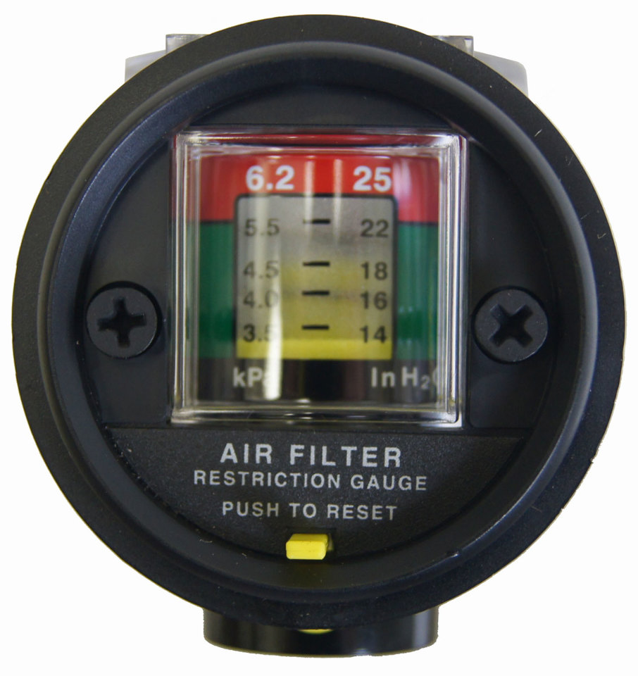90 09 Topkick Kodiak C4500 C8500 Air Filter Restriction