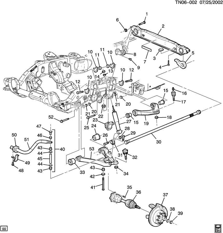08 09 Hummer H2 Front Stabilizer Sway Bar 15056006 20817311 15056006 on 2006 Hummer H3 Suspension Diagram