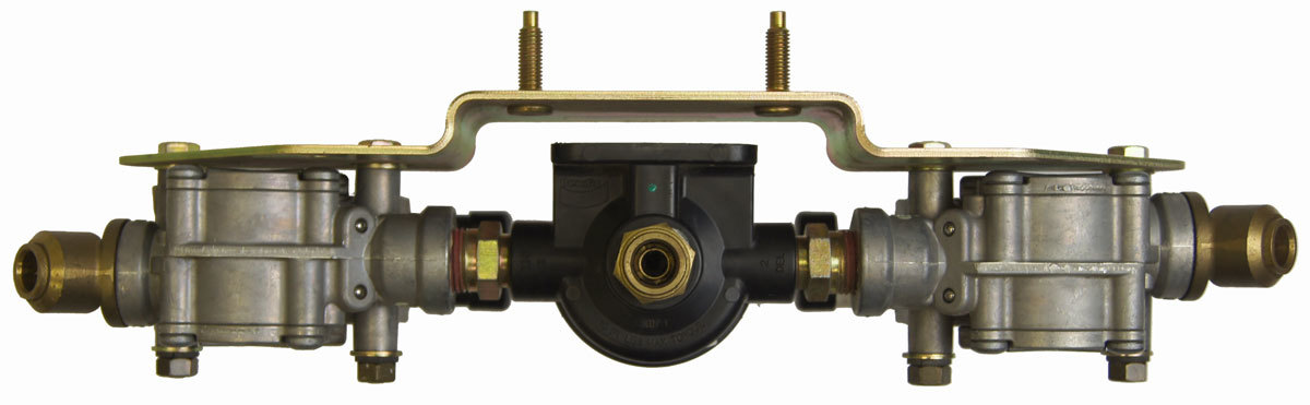Air Brake Controls : C complete front air brake control valve