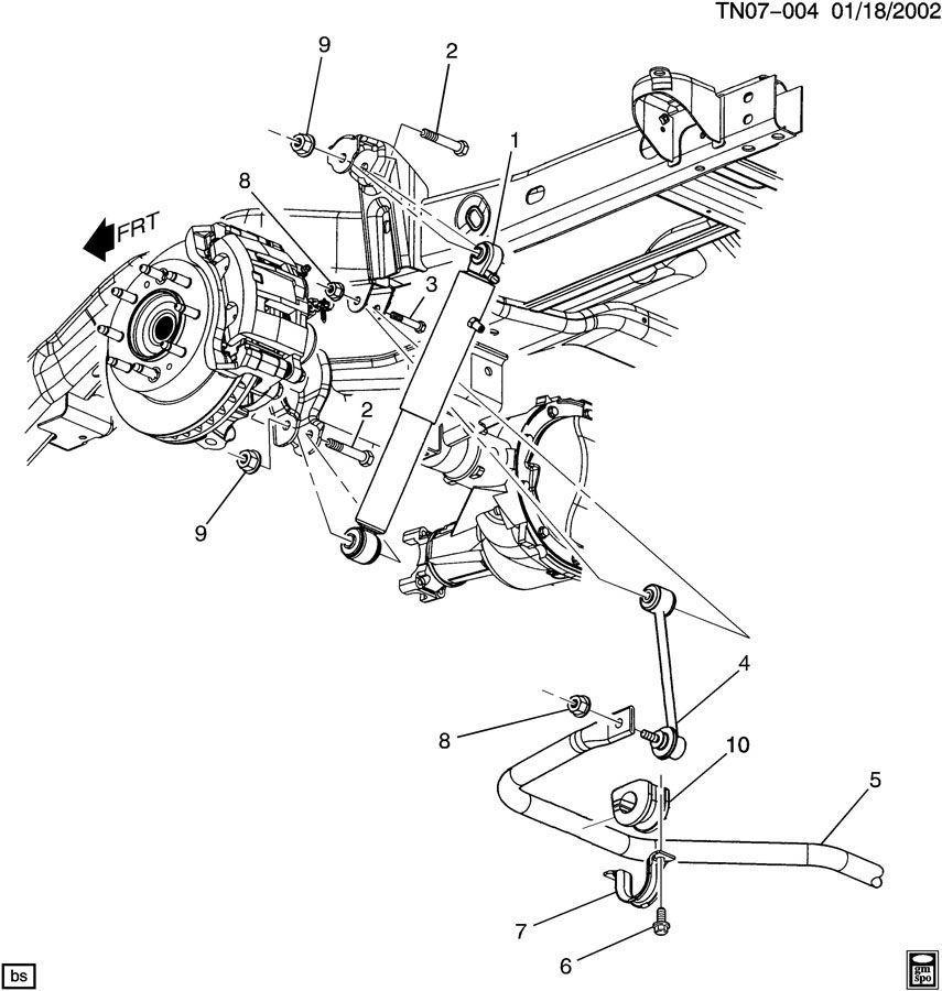 08 09 Hummer H2 Rear Stabilizer Sway Bar 15240964 Off Road Susp Pkg Zm6 15240964 on 2008 Hummer Interior