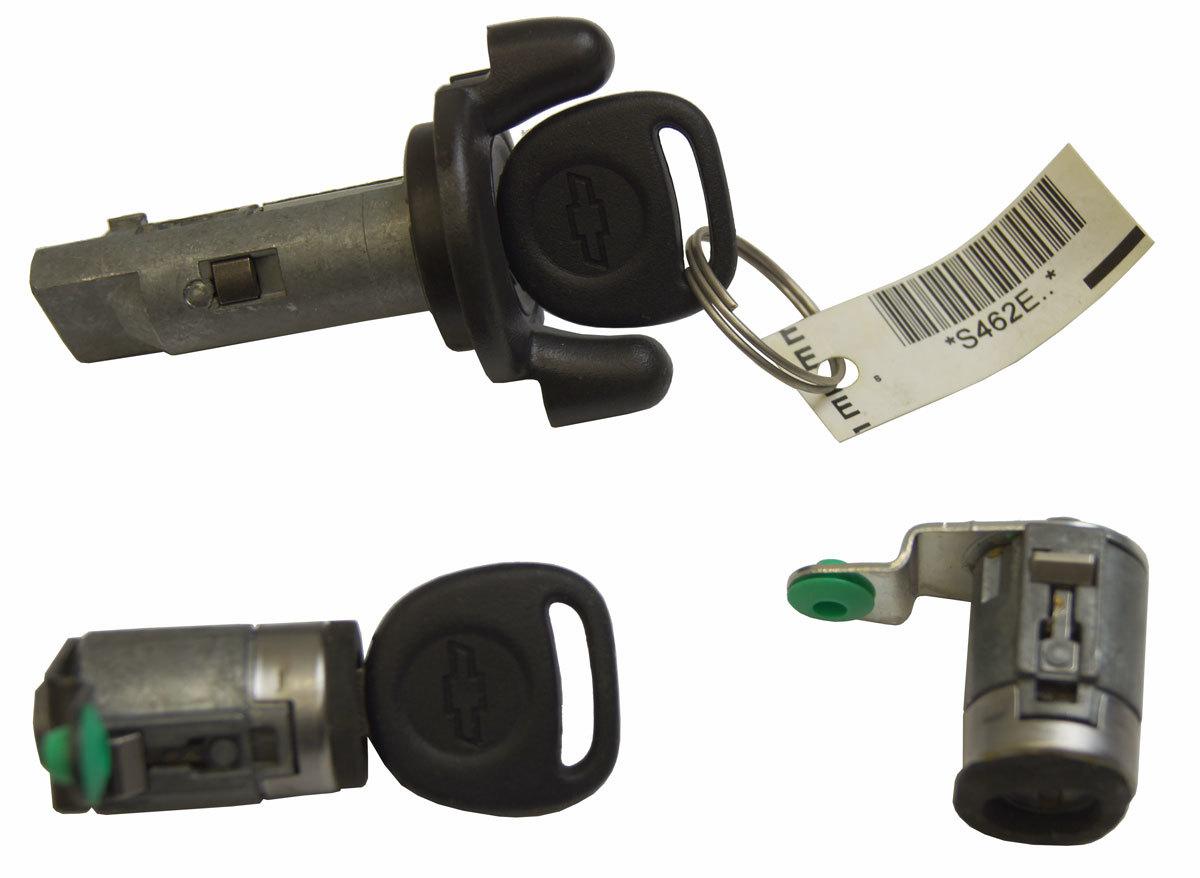 Ignition Cylinder W2locks Keys Chevy 15263369