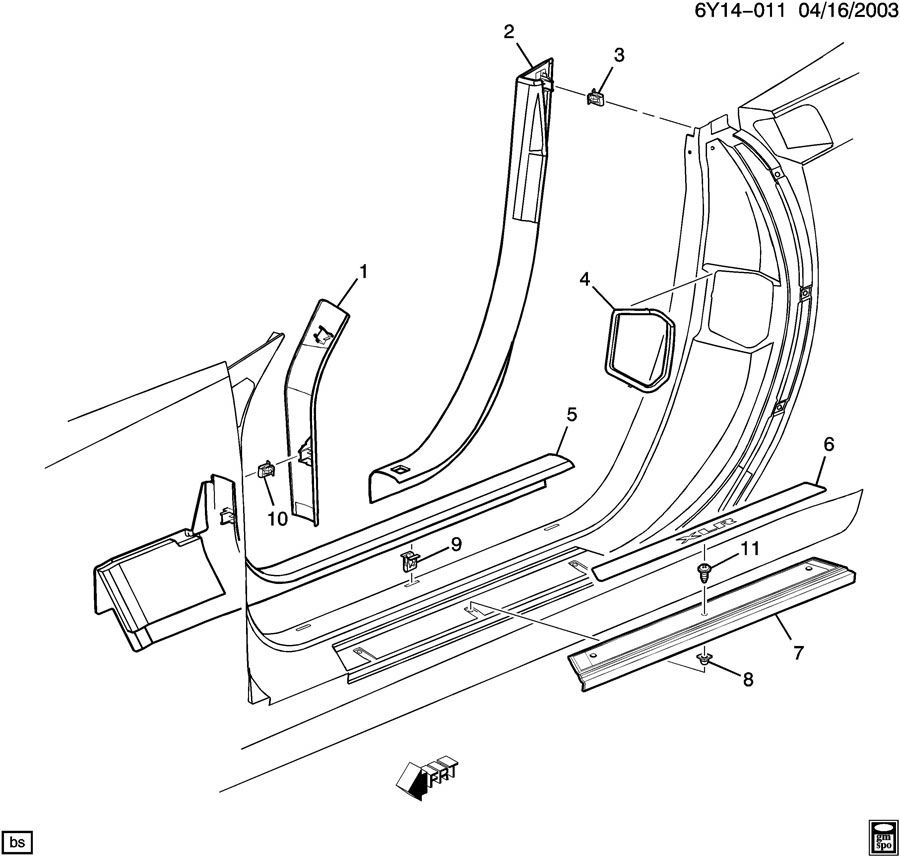 Gmc C7500 Fuse Box in addition 07 Buick Lacrosse Belt Diagram likewise Nissan X Trail 2003 Fuse Box Diagram additionally Kawasaki Vn2000 Wiring Diagram 2 additionally 2010 Chevy Traverse Fuse Box Diagram. on 2007 acadia fuse panel