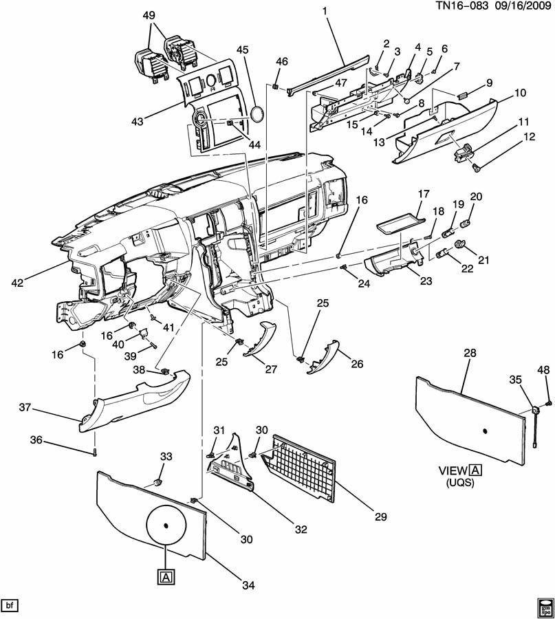 97 Caddilac Catera Instrument Panel Fuse Box Diagram