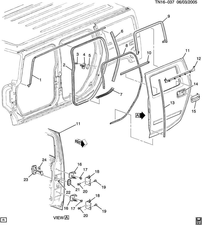 15828956-03-09-hummer-h2-lh-rear-door-link-stop-hinge-15828956-3 H Panel Wiring Diagram on