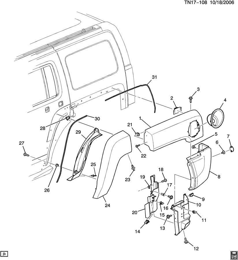 Sophisticated 2006 hummer h3 parts diagrams gallery best image 06 10 hummer h3 lh rear fender body molding extension bracket sciox Choice Image
