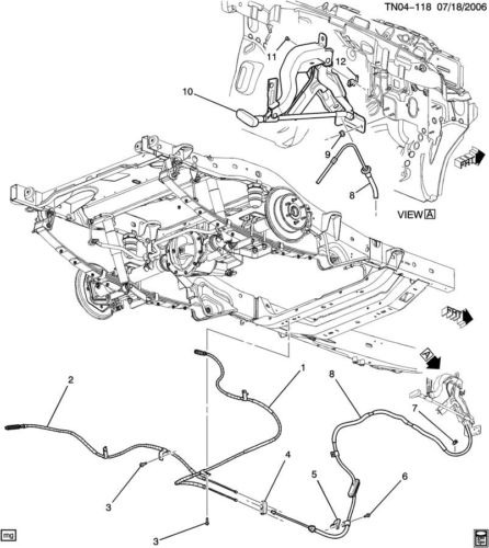 Hummer H2 Brake Line Diagram : Service manual hummer h brake replacement system