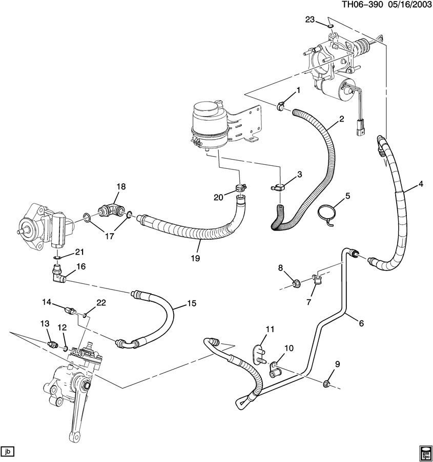 2006 hummer h2 steering diagram