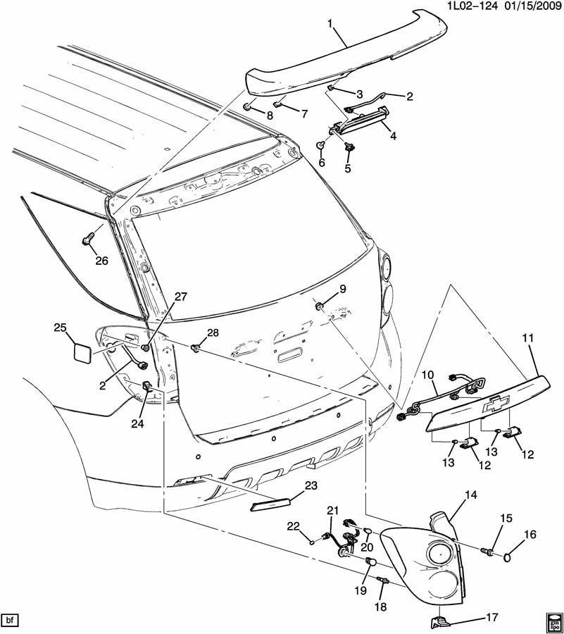 gmc terrain headlight embly parts diagram  fuse box  auto