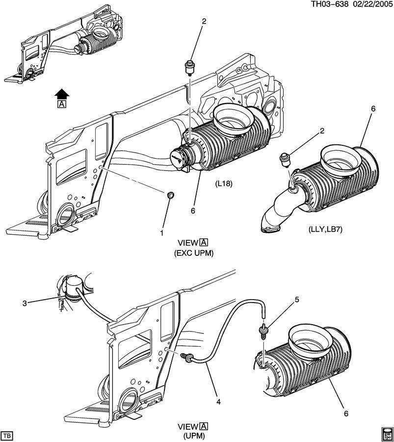 AIR FILTER RESTRICTION GUAGE INDICATOR H2 666 DURAMAX LMM – Lmm Engine Diagram