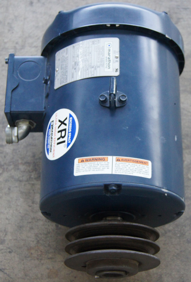 Marathon Electric Xri Motor 3 Phase 5hp 208 230 460v