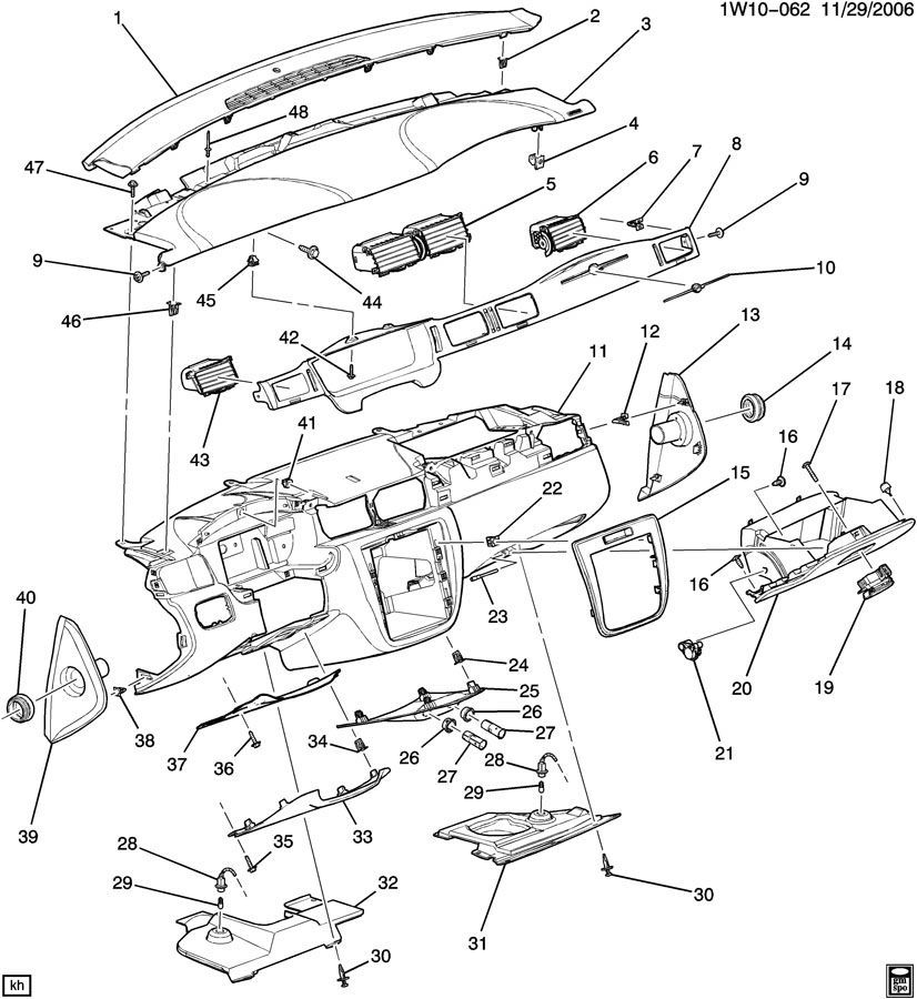 Front Drivetrain Parts Diagram 2006 Saturn on 2006 Hummer H3 Fuse Box Diagram