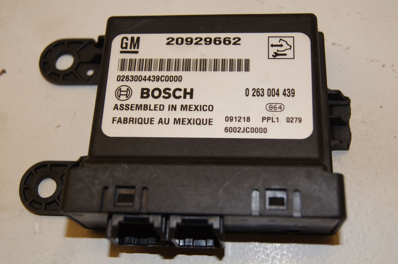 2010 gm parking assist module bosch broken tab factory for Phone number for general motors