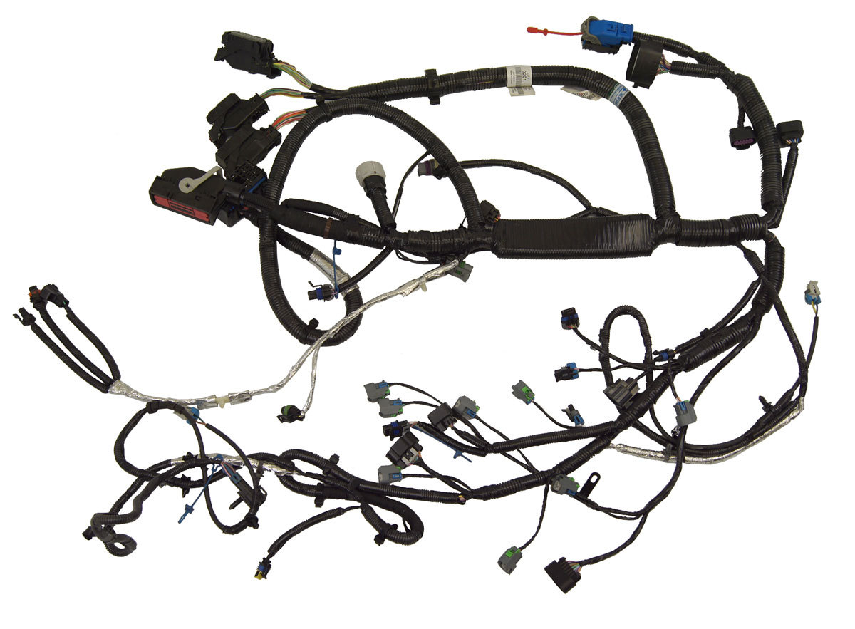 2009 2011 new engine wiring harness cadillac dts 4 6l v8. Black Bedroom Furniture Sets. Home Design Ideas