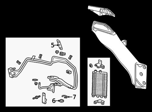 2015 chevrolet corvette c7 automatic transmission cooler