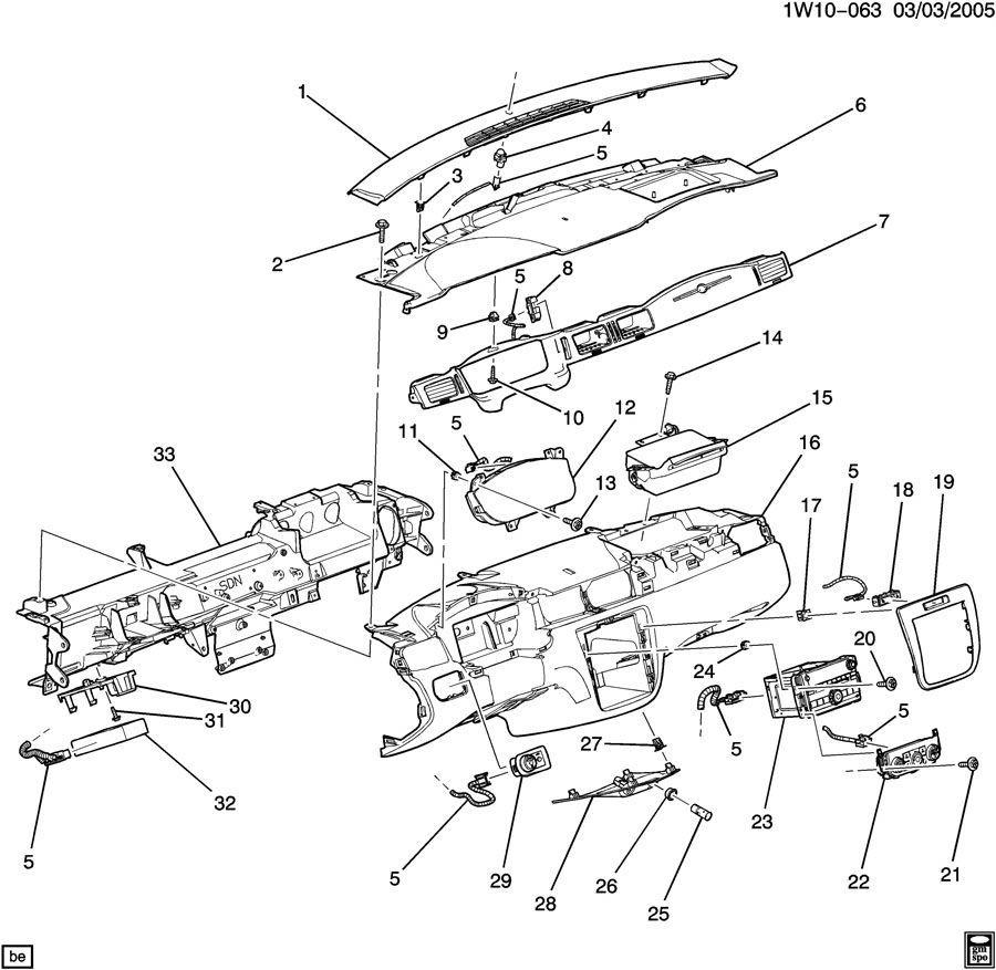 2012 limited center instrument panel bezel maple 22777989
