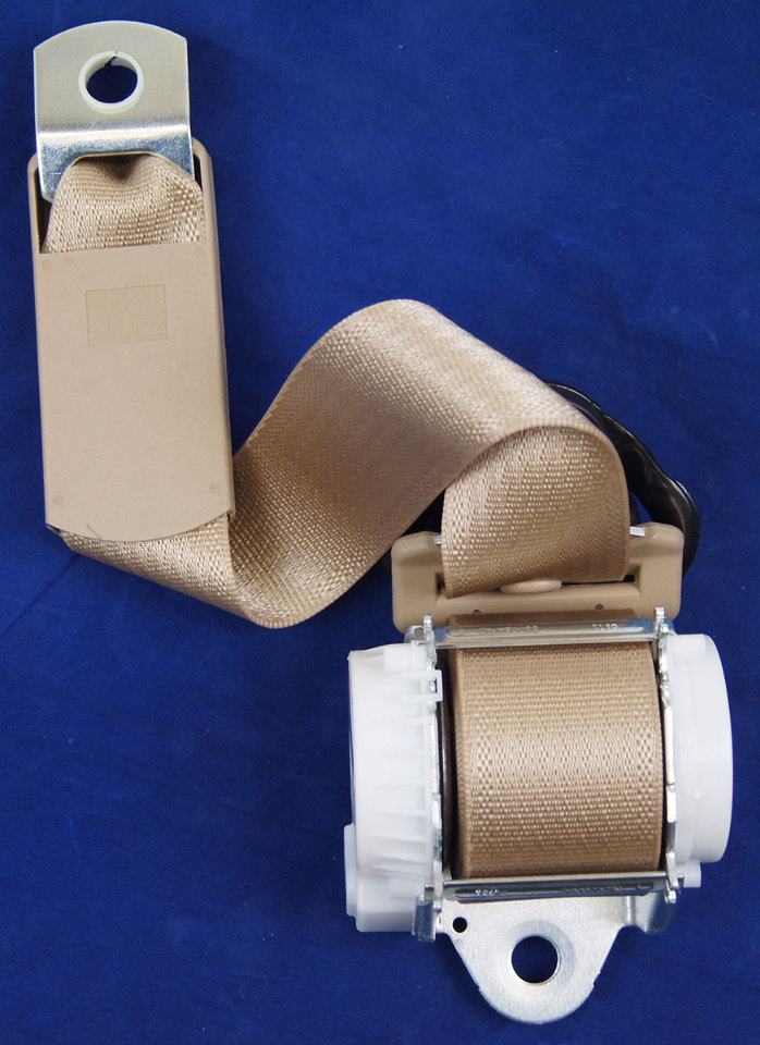 2007-2014 Chevy Tahoe Right Side Rear Seat Belt Cashmere ...