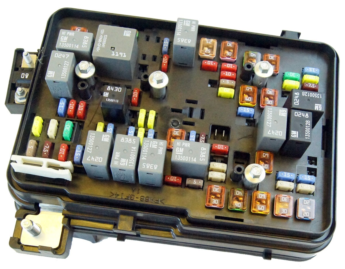 22865685 2011 2012 gmc terrain equinox 24l engine compartment fuse block box relays 2 2011 2012 gmc terrain equinox 2 4l engine compartment fuse block 2010 chevy equinox fuse box location at creativeand.co