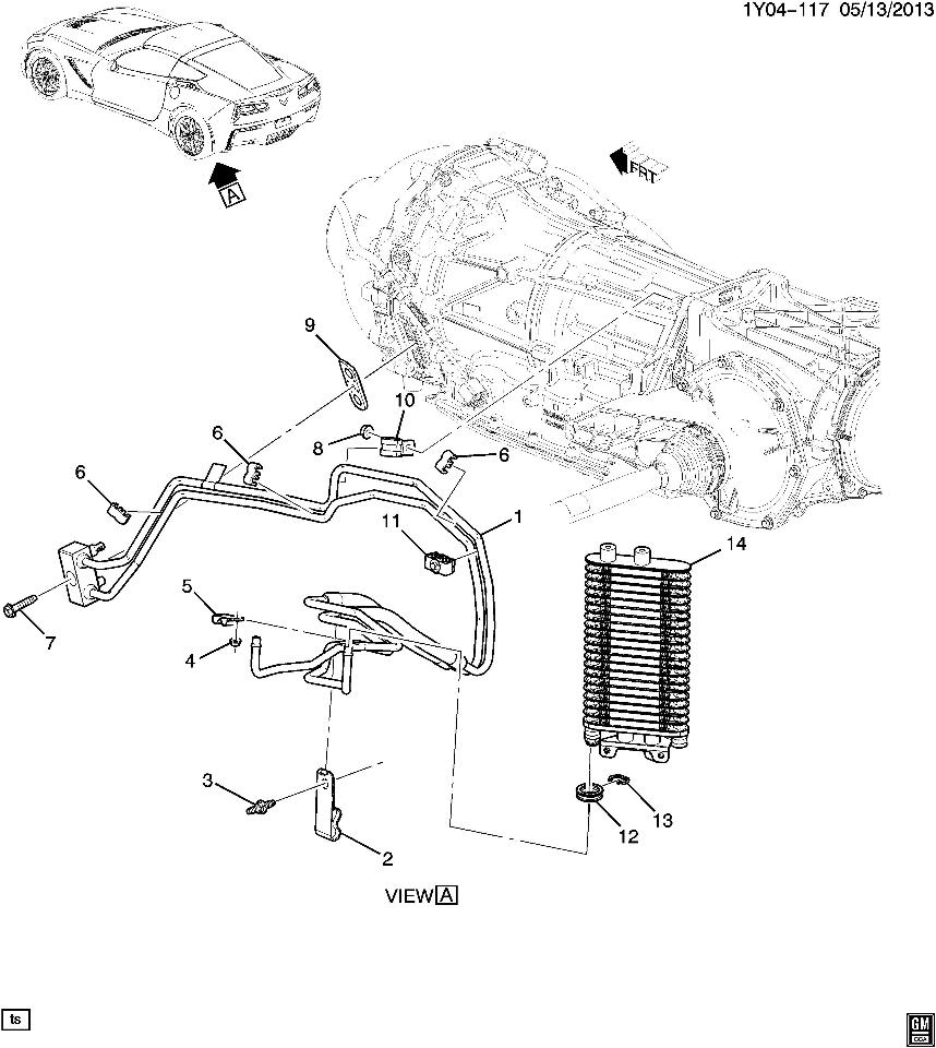 chevy transmission cooling lines pictures to pin on