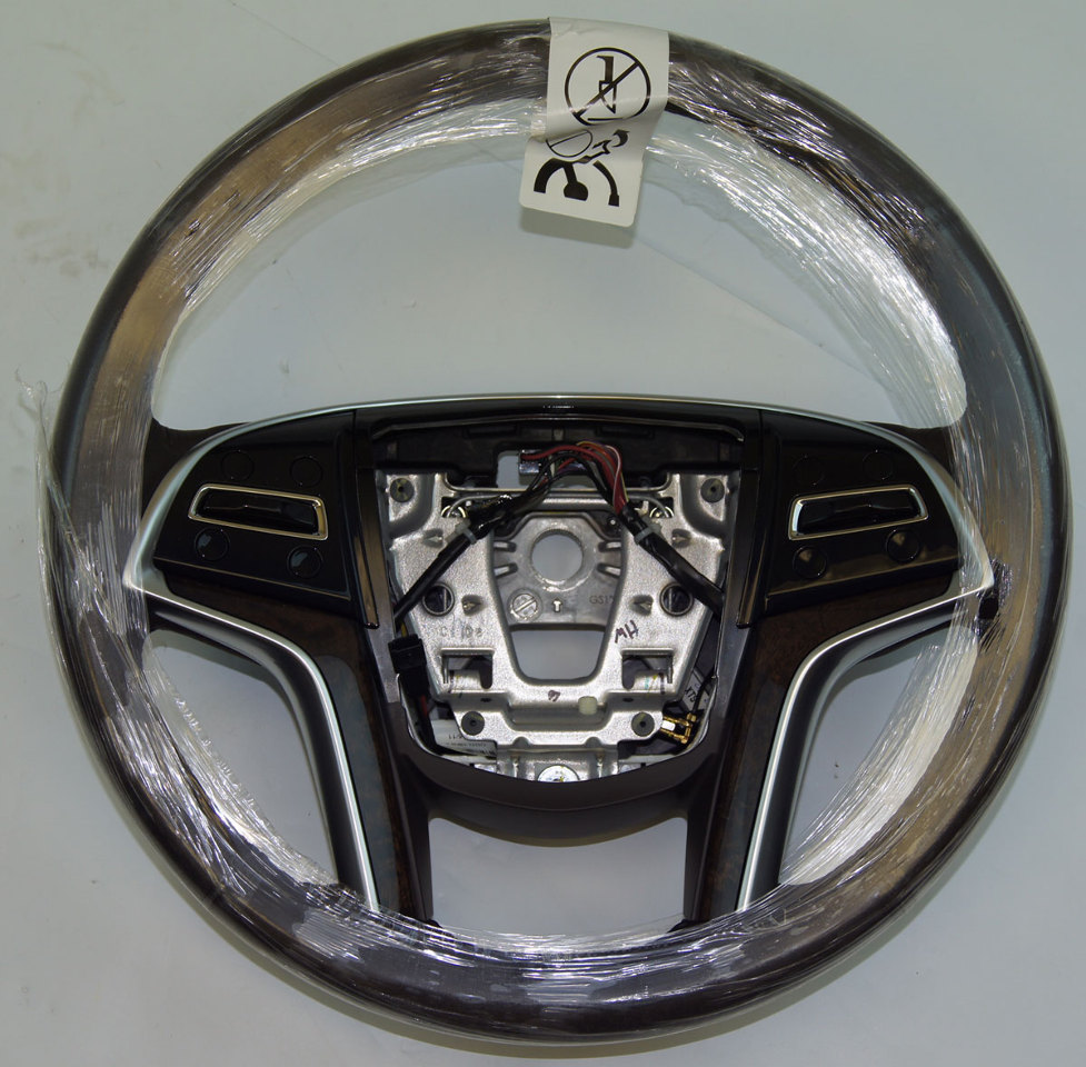 2013-2014 Cadillac XTS Steering Wheel Cocoa Brown Leather