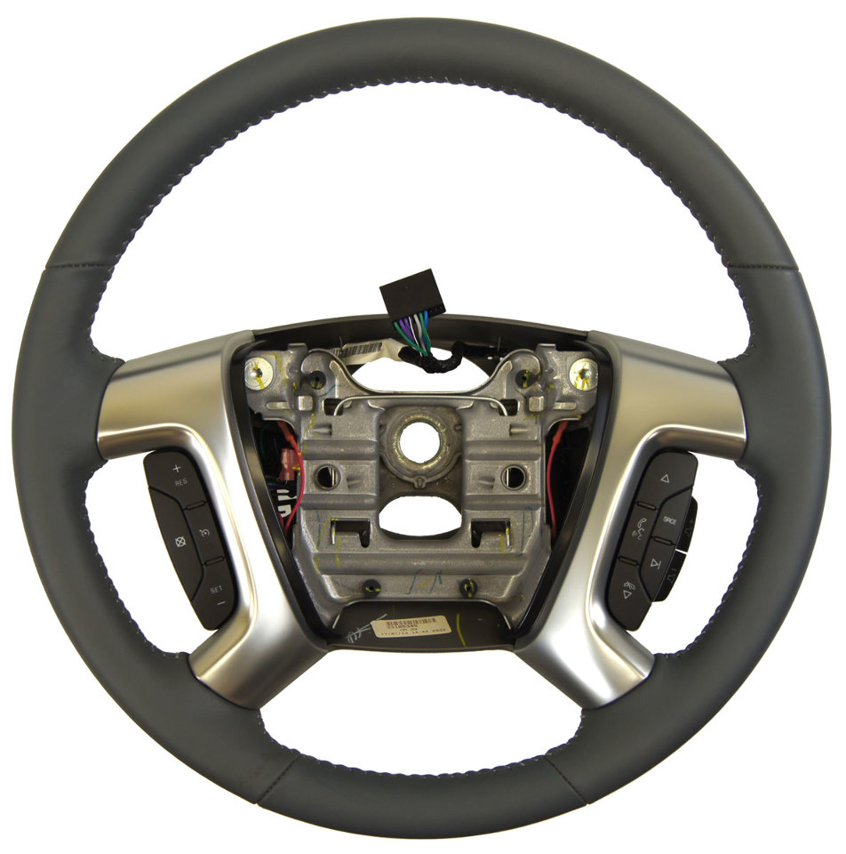 2013 2016 Gmc Acadia Steering Wheel Dark Titanium Leather