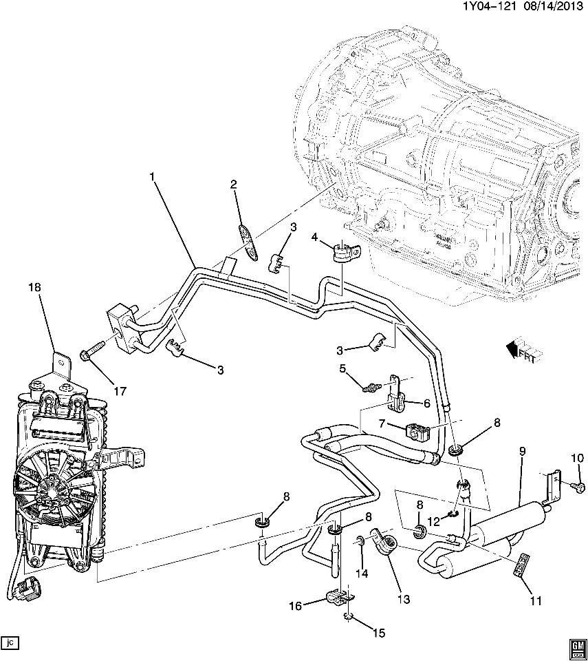 general motors automatic transmission parts